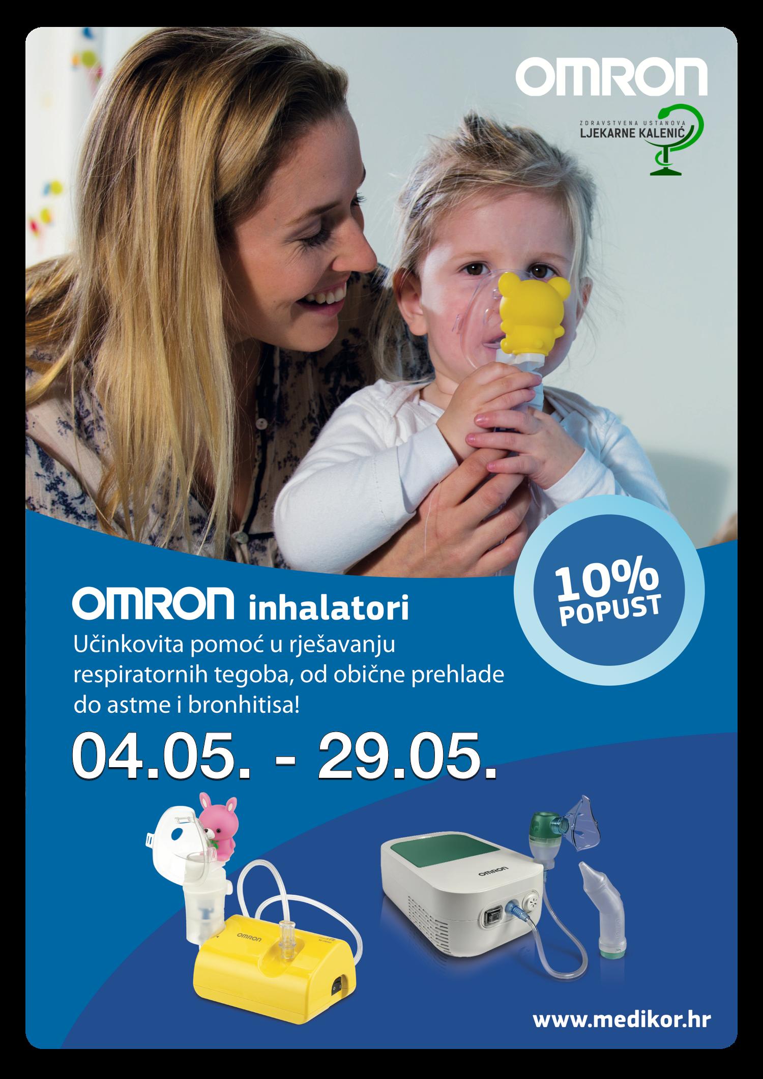 Omron inhalatori